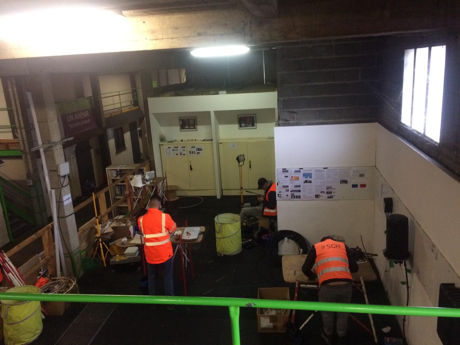 Formation Transport D1 D2 et D3 sur notre plateau technique labélisé Objectif Fibre à Limoges